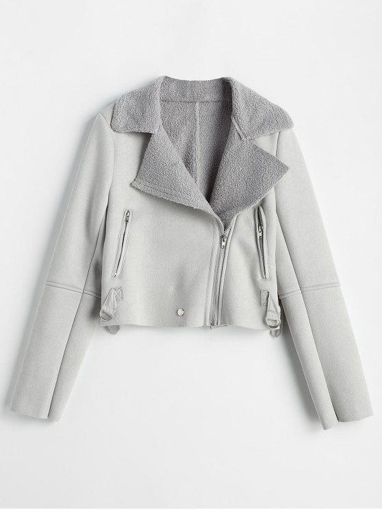 Manteau gris anthracite
