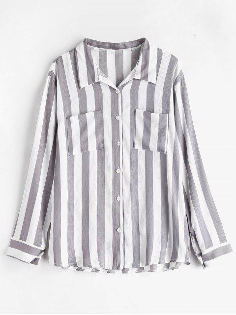 Chemise à poches rayées - Multi L Mobile