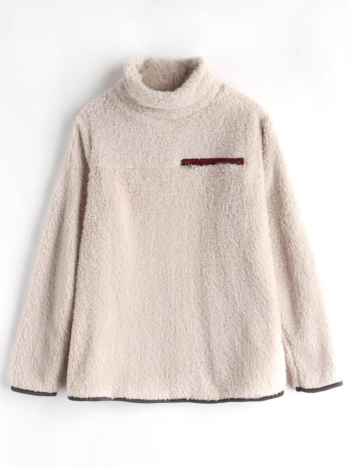 Col Moelleux Tunique Sweat-Shirt