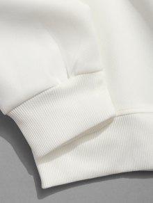 Geom Sudadera Letra Casual Blanco 233;trica Xs 4wqdq7T