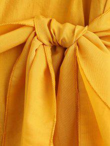 Blusa Con De Con Ca Cintur Hombros Bolsillo 243;n 8x1r8qP4