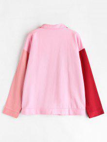 Shoulder S Color Jacket Multicolor Drop Block qEwgCwA