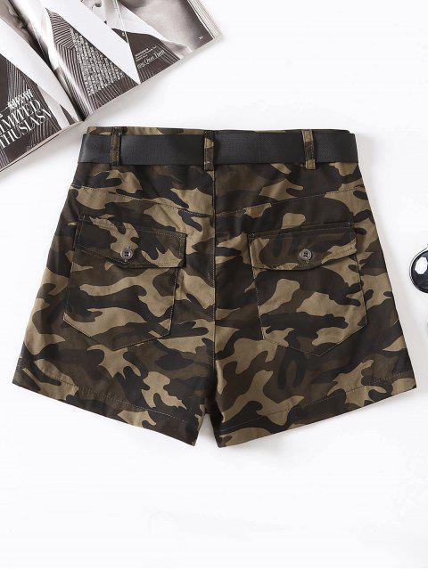 Short camouflage à ceinture - Camouflage ACU M Mobile