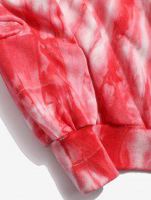 L Bomberos Cami Estampada Con De De De Estampado Flores Sudadera 243;n Rojo qvAPP