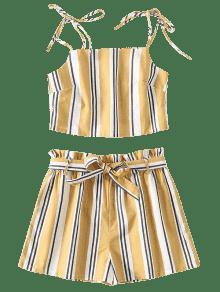 Two Vara Piece Oro M Set Tie Striped De PqO17wgn5