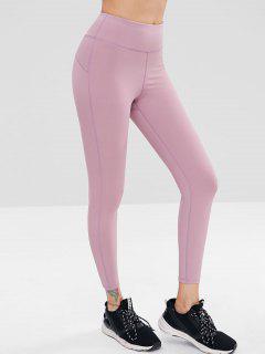 Leggings De Yoga De Talle Alto - Púrpura De Wisteria S
