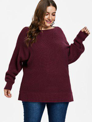 ZAFUL Oversized Fledermausärmel Pullover