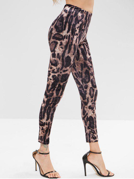 sale Leopard Pants - LEOPARD L