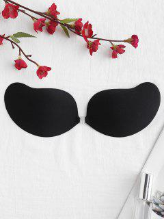 Invisible Seamless Backless Adhesive Bra - Black Cup D
