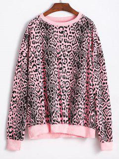 Leopard Oversized Sweatshirt - Multi