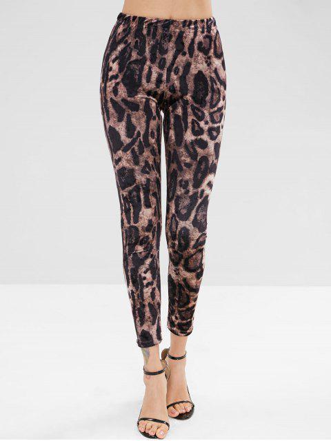 Pantalones de leopardo - Leopardo XL Mobile