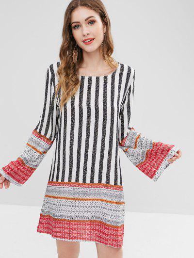 7e20226b1056 2019 Striped Long Sleeve Dress Online | Up To 64% Off | ZAFUL .