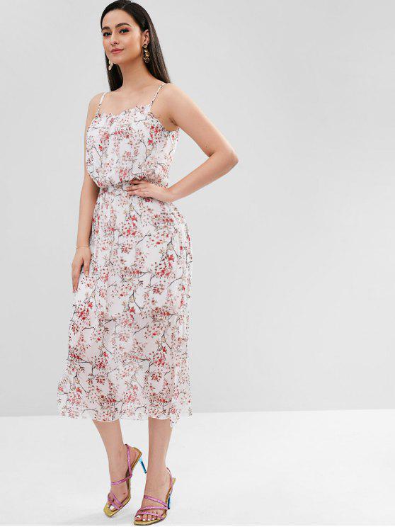 Vestido Minúsculo Floral Cami - Multi L