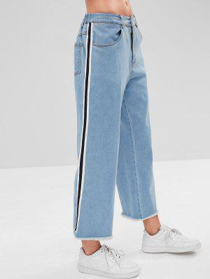 ZAFUL - Gestreifte Jeans mit seitlichen Streifen