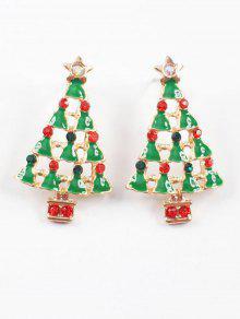 عشيق شجرة عيد الميلاد وأقراط - متعدد