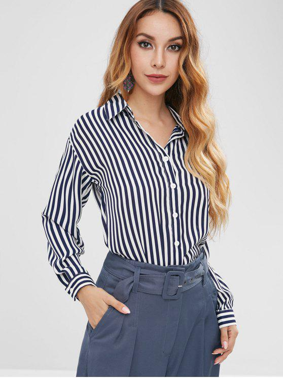 Camisa de rayas - Multicolor XL
