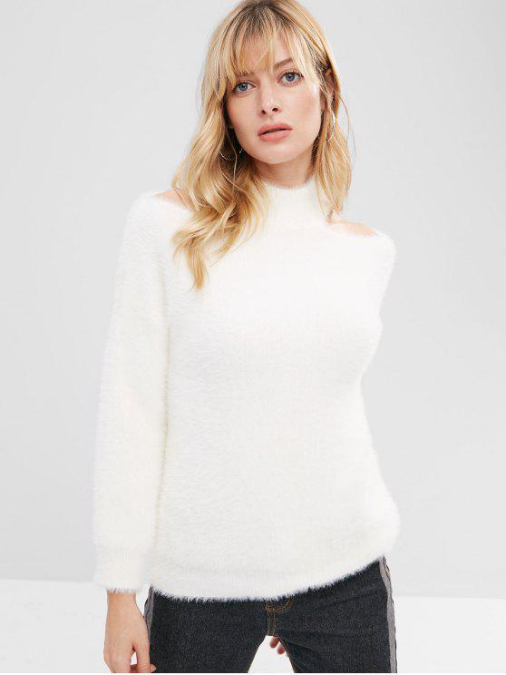 Maglione Morbido - Bianco Una Taglia