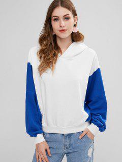 Drop Shoulder Pullover Hoodie - Multi
