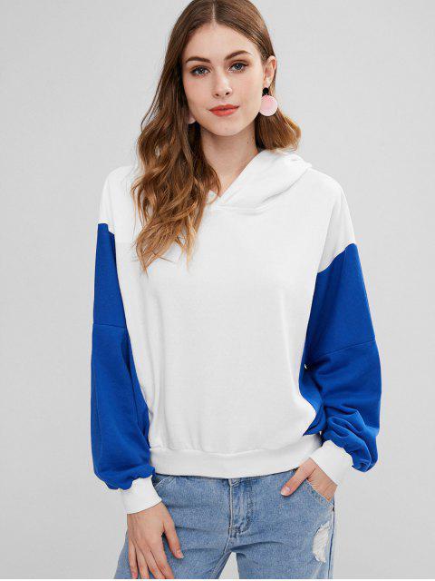 Drop Schulter Pullover Hoodie - Multi Eine Größe Mobile