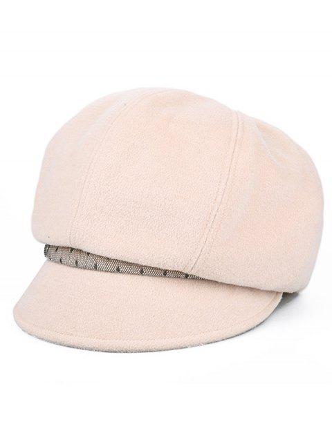 fashion Solid Color British Style Beret - SAKURA PINK  Mobile
