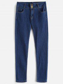 جينز سكيني بخصر مرتفع - Blueberry Blue M