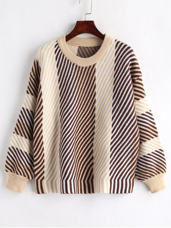 best Striped Sweater - MULTI ONE SIZE