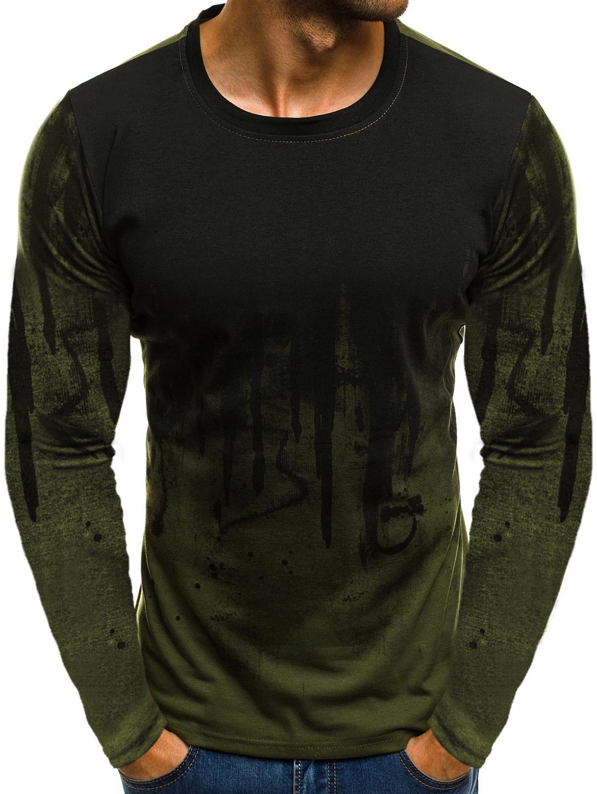 Ink Painting Print Long Sleeve T-shirt thumbnail