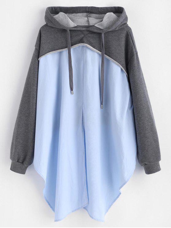 51 rabatt 2018 crisp hemd loopback pullover hoodie von grau m zaful. Black Bedroom Furniture Sets. Home Design Ideas