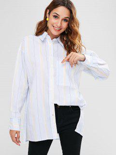 Chemise Oversize à Rayures - Multi S