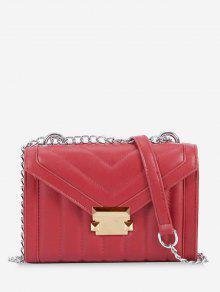 حقيبة كروس صغيرة - أحمر