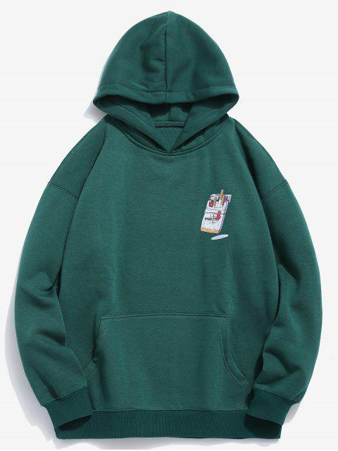 best Funny Printed Hip Hop Style Hoodie - MEDIUM SEA GREEN XL Mobile