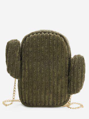Kaktus-Metall-Ketten-Umhängetasche