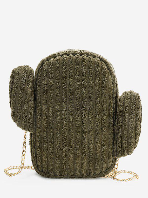 Cactus Metal Chain Shoulder Bag