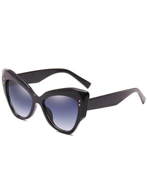 Anti-fatiga Full Frame Remaches Catty Sunglasses - Negro