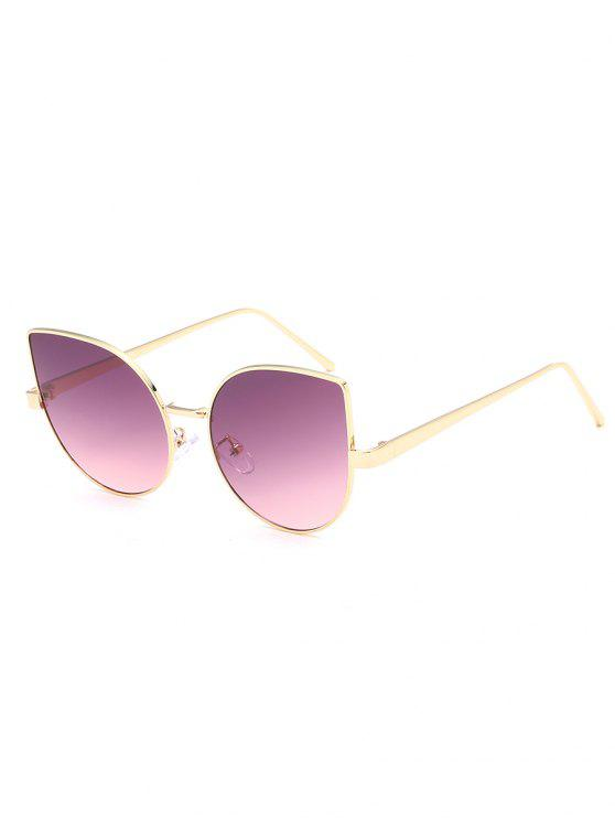 online Anti Fatigue Flat Lens Catty Sunglasses - PALE VIOLET RED