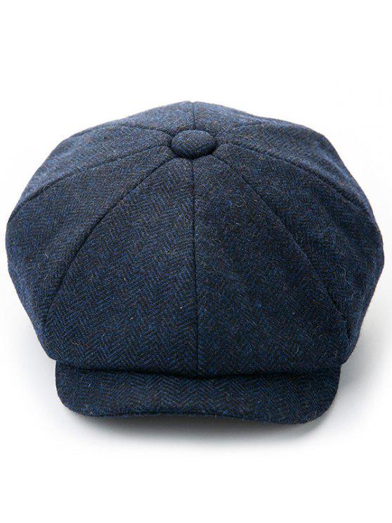 Cappello Invernale In Tinta Unita - Blu Mezzanotte