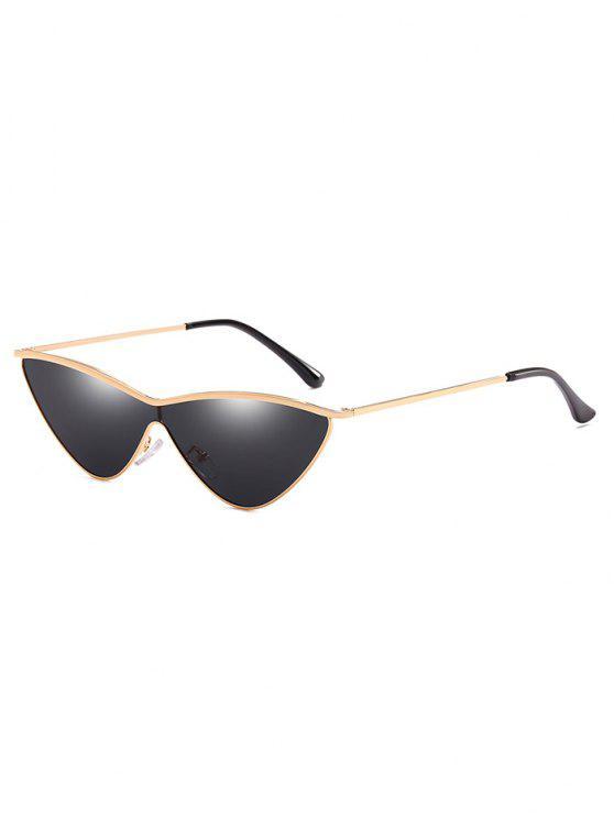 Óculos de sol Anti fadiga Metal One Piece Catty - Preto