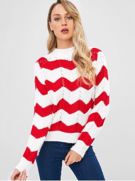 Шорный свитер из шелка - Белый Один размер