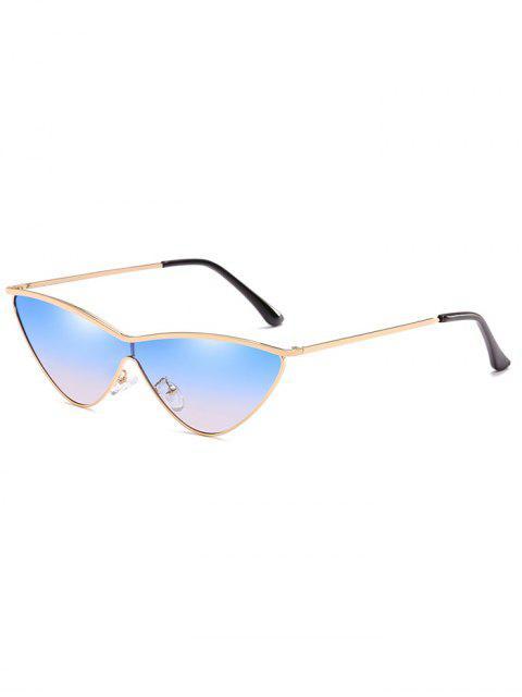 Gafas de sol Catty anti-fatiga de metal de una pieza - Celeste  Mobile