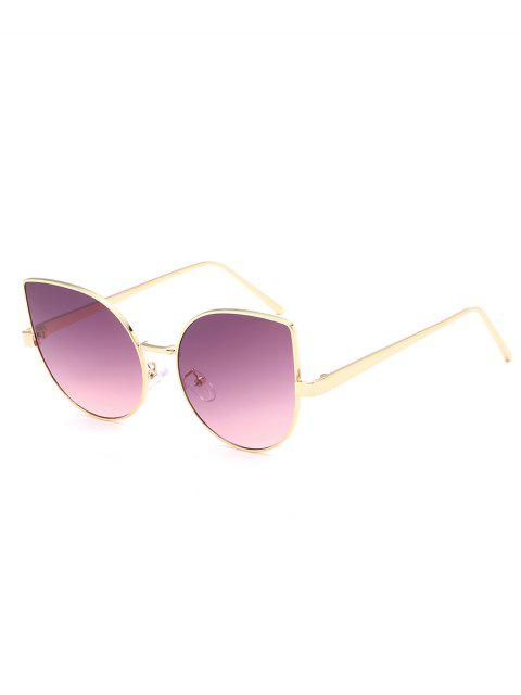 Gafas de sol Catty de la lente plana anti fatiga - Lila Roja  Mobile