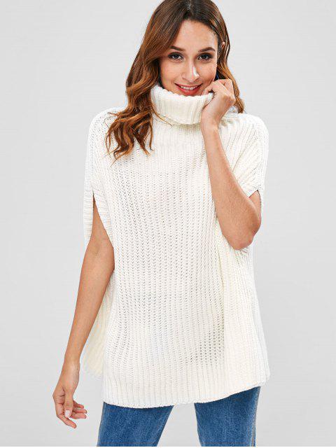 Suéter de cuello alto de Cabo - Blanco Talla única Mobile