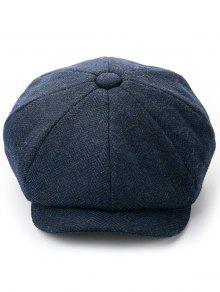 قبعة بلون الشتاء منقار البط - منتصف الليل الأزرق