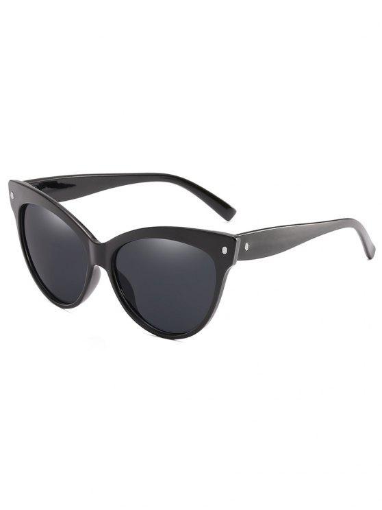 Óculos de Sol Catty à Moda com Moldura Completa - Preto