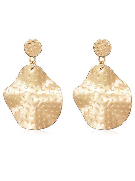 affordable Alloy Irregular Geometric Shape Drop Earrings - GOLD