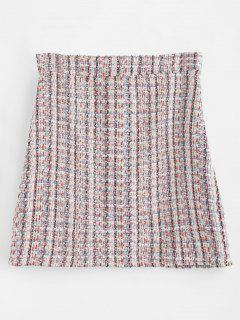 Mini Color Block Skirt - Multi L