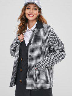Gingham Oversized Jacket - Multi