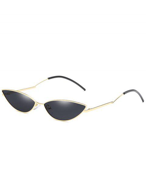 hot Novelty Slim Metal Frame Sunglasses - NIGHT  Mobile
