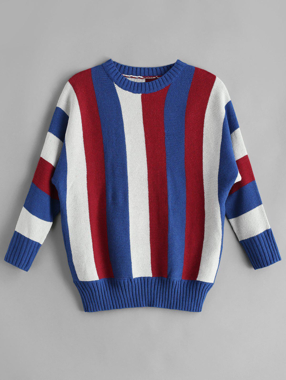Colorful Striped Jumper Sweater