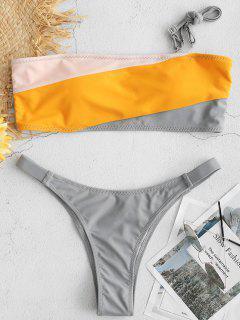 ZAFUL Bikini-Set Mit Hohem Beinfarbblock - Multi L