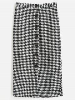 Jupe Mi-longue En Tweed - Multi S